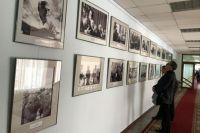 Выставка «Эпоха Эрвье» в Тюменской областной думе.