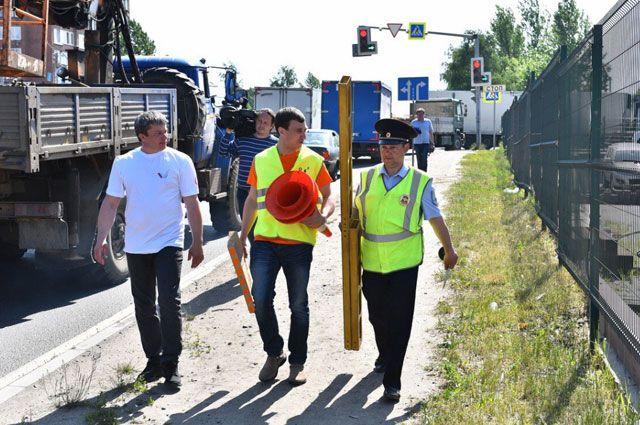 Общественники и Госавтоинспекция пришли к выводу, что по некоторым дорогам в городе ездить крайне опасно.