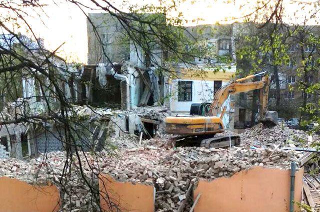 Здание бывшего детского сада считалось архитектурно-градостроительным наследием 1930-х годов.