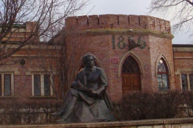 Оренбург отмечает 220-летие со дня рождения А.С.Пушкина.