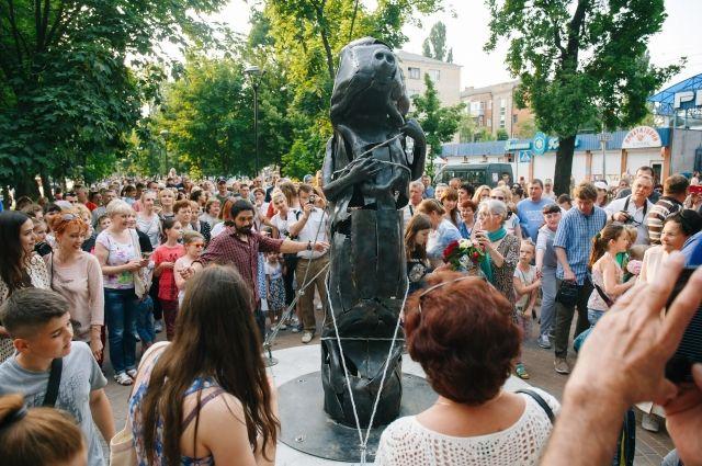 В Белой Церкви открыли парк современной скульптуры
