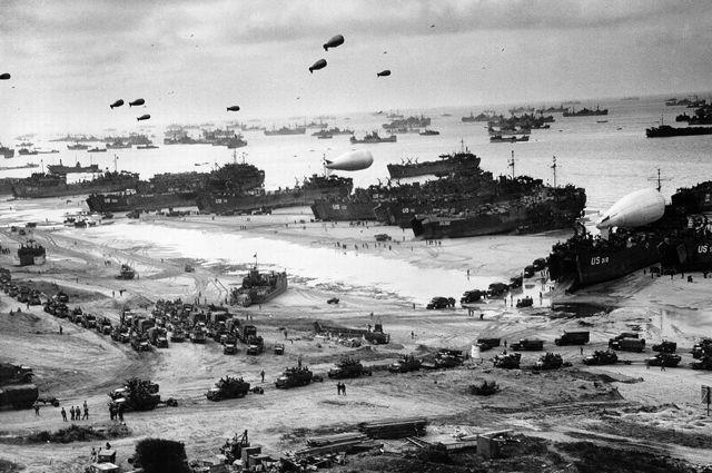 Войска союзников после высадки. Прибытие подкреплений на плацдарм.