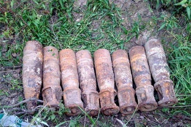 С начала года в Калининградской области нашли и обезвредили 6300 снарядов