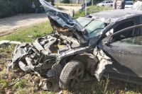 В Херсонской области возле села Николаевка произошло ДТП, в результате которого два человека погибли и еще один человек был госпитализирован.