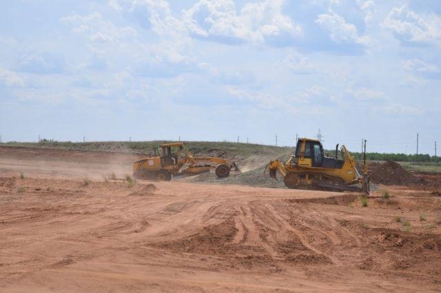 В Оренбурге  стартовало строительство дороги обход поселка Ростоши