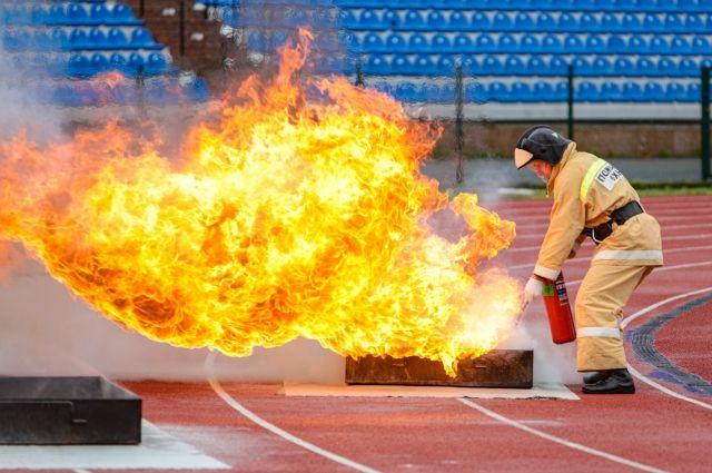В АО «Транснефть–Сибирь» прошли соревнования по пожарно-прикладному спорту