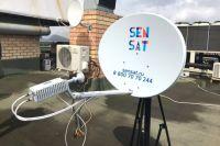 Название SenSat является неологизмом, образованным от английских слов sensation (сенсация) и satellite (спутник).