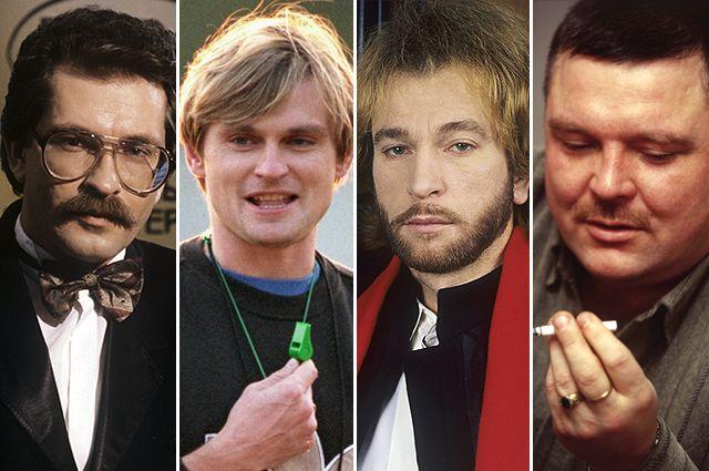 Владислав Листьев, Юрий Тишков, Игорь Тальков, Михаил Круг.