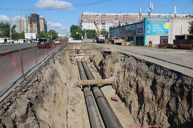 Ремонт теплосетей в Барнауле
