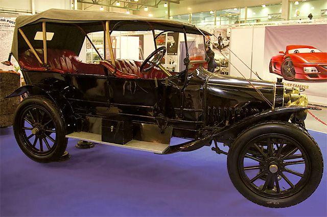 Руссо-Балт К 12/20 1911 г. в Политехническом музее. Единственный сохранившийся в мире экземпляр «Руссо-Балта».
