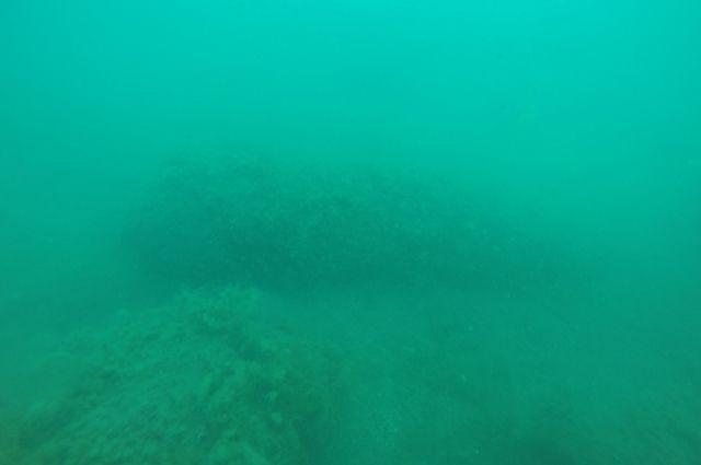 Снаряд лежал на глубине 9 метров.
