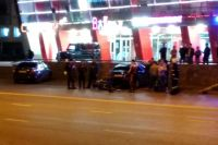 Водитель за рулём Renault двигался по улице Ленина со стороны улицы Крисанова.