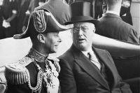 Король Великобритании Георг VI и президент США Франклин Делано Рузвельт.