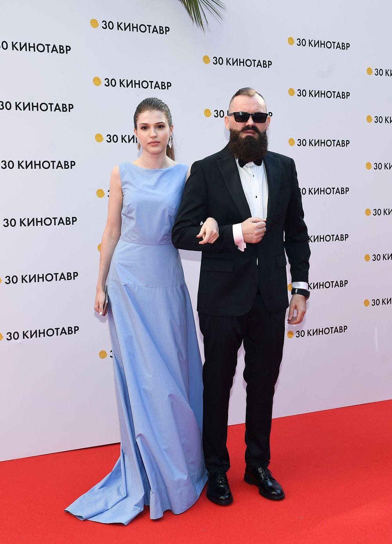Кинорежиссёр, сценарист Григорий Константинопольский и его супруга продюсер Владислава Фетисова.