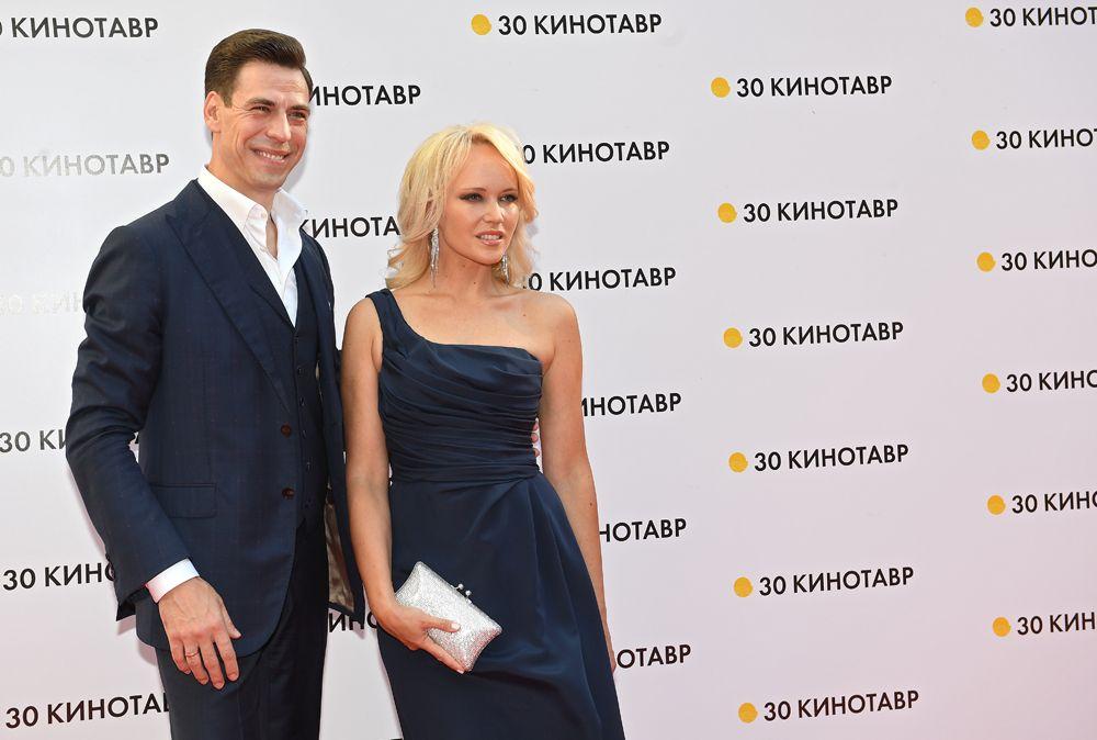Актер Дмитрий Дюжев с супругой Татьяной.