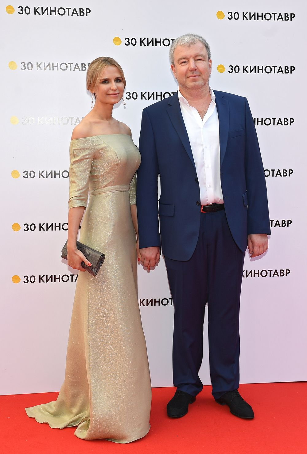 Актёр Александр Робак с супругой Ольгой.