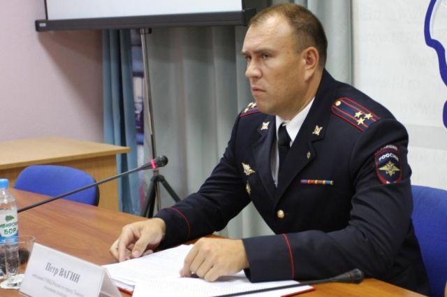 Петр Вагин назначен замминистра МВД России Северной Осетии-Алании