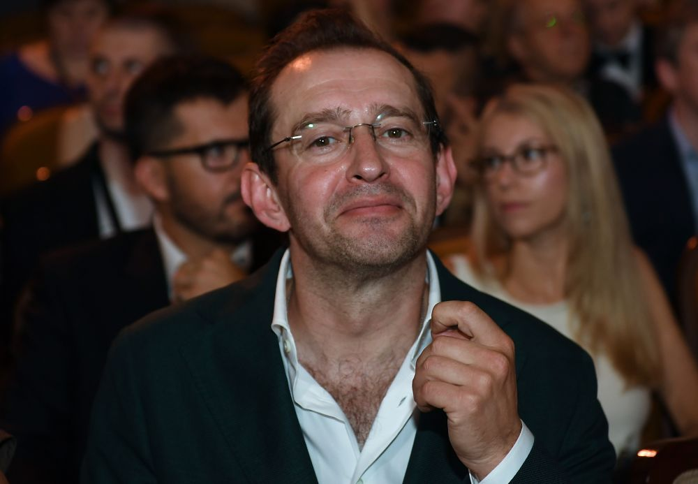 Председатель жюри основного конкурса, актер, режиссер Константин Хабенский.