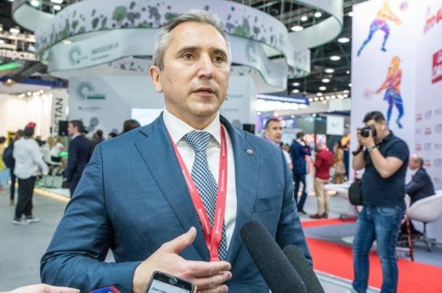 На ПМЭФ Александр Моор принял участие в обсуждении реализации нацпроектов