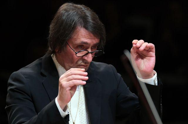 Художественный руководитель и главный дирижер Государственного симфонического оркестра «Новая Россия» Юрий Башмет.
