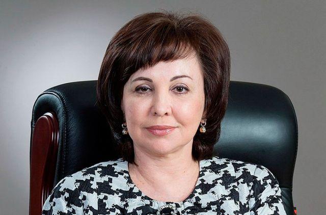 Первый вице-губернатор края Вера Щербина