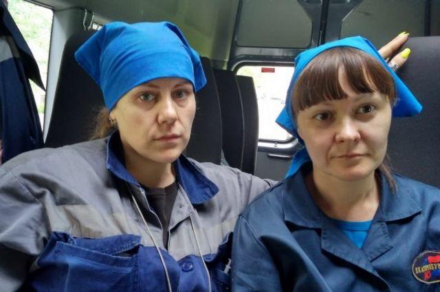 Екатерина Шушарина и Елена Тимофеева уже вышли на работу.