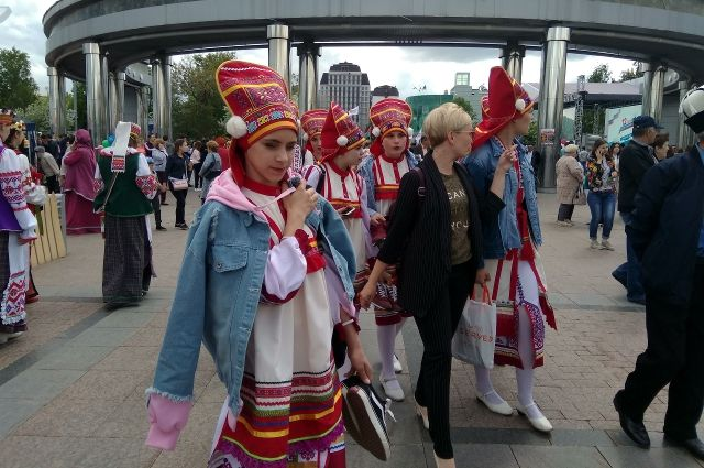 В Тюменской области 25 тыс. человек посетили мероприятия в честь Дня России