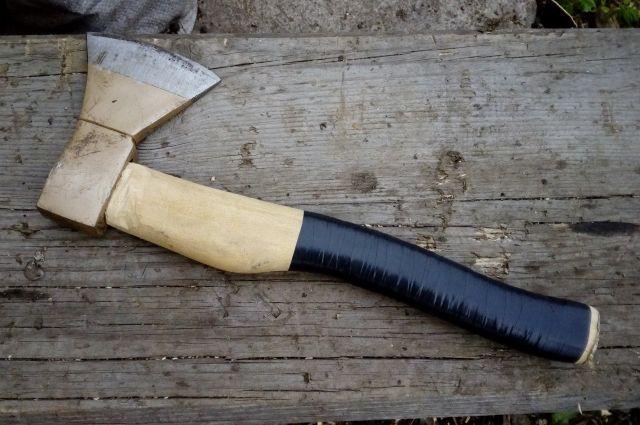 В Киевской области рецидивист изрубил топором собутыльника