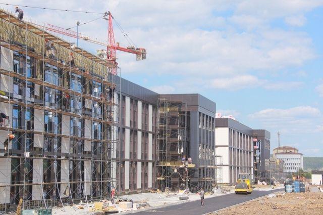 Строители закончат работу к 1 сентября.