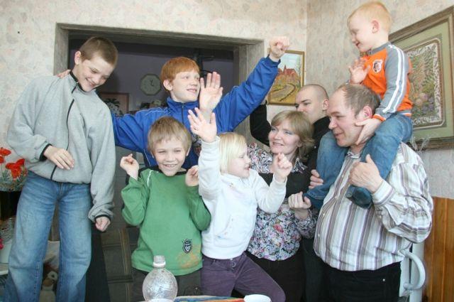 В регионе насчитываются 10 тысяч многодетных семей.