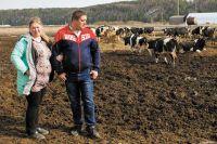 Оксана и Пётр Тупицины планируют довести дойное стадо до 240 голов, завести роботов-дояров.