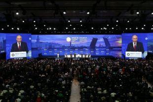 Форум давно стал одной из визитных карточек Петербурга. В этом году к нам приехали представители 150 стран.