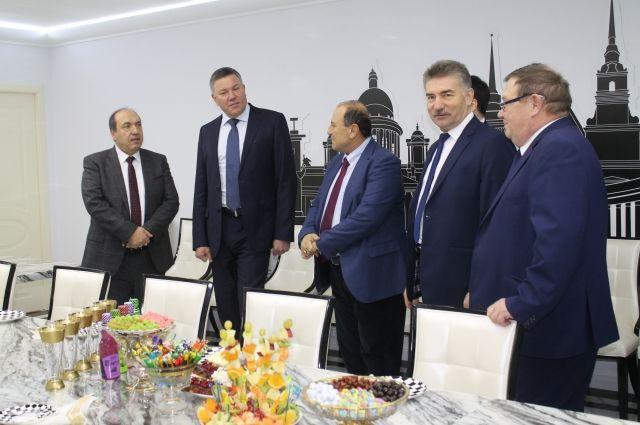 6 декабря 2018 года Олег Кувшинников и руководство  предприятия