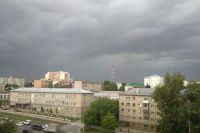 Непогода в Новосибирске