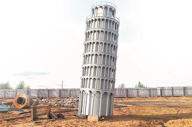 Семиметровая Пизанская башня весит 4,2 т.