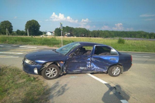 В Зеленоградском районе в ДТП погиб мотоциклист