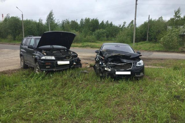 ДТП произошло на улице Островского.