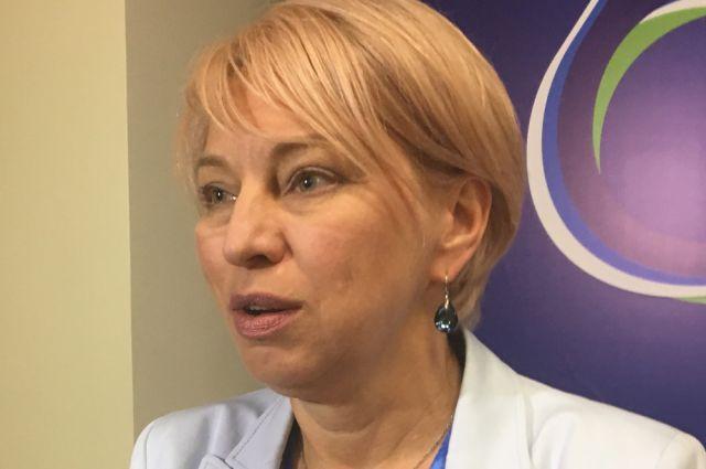 Вице-губернатор – директор департамента образования и науки Наталья Бондаренко