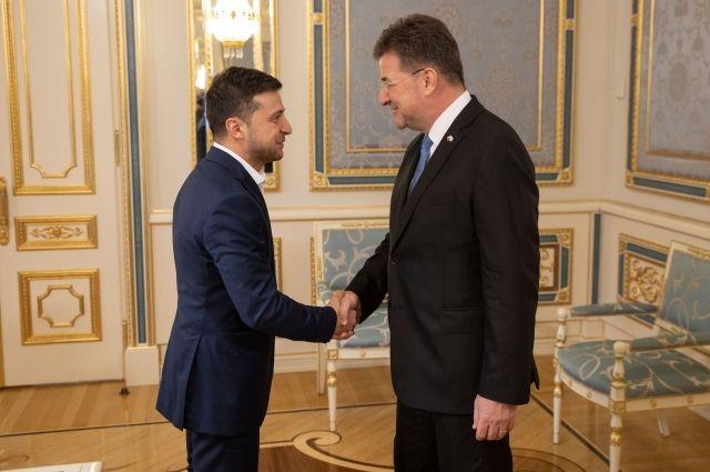 «Главная цель – остановить войну»: Зеленский встретился с главой ОБСЕ