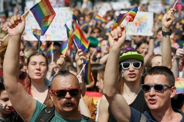 В Киеве пройдет марш ЛГБТ