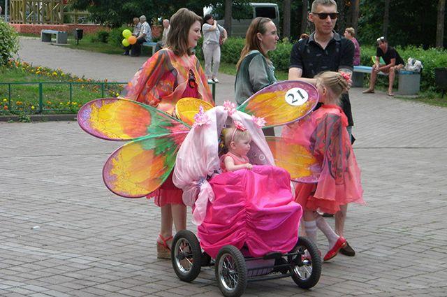 В Ялуторовске в День города пройдет парад детских колясок и велосипедов