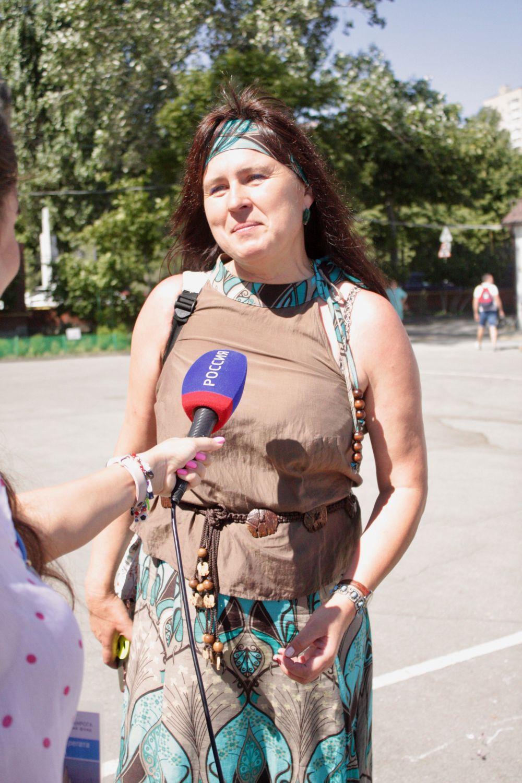 Председатель оргкомитета регаты - чемпионка России Елена Сирота
