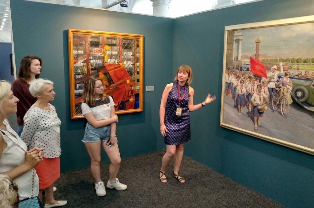 Посетители увидят золотой фонд российского изобразительного искусства.