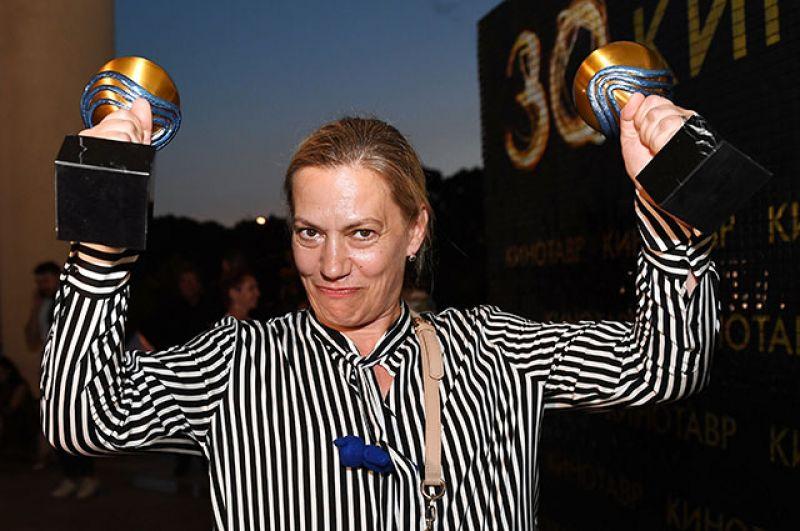 Режиссёр Анна Пармас, получившая гран-при фестиваля за «Лучший дебют». Фильм «Давай разведемся!».