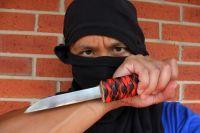 Мужчину с ножом задержали полицейские
