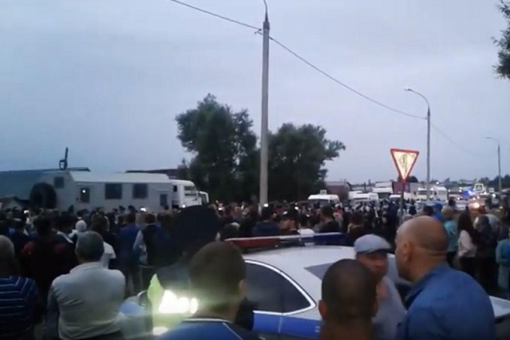 Ситуация в Чемодановке.