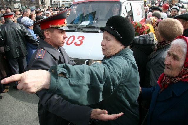 Не только молодёжь, но и пенсионеры участвуют в протестах, если власти к ним не прислушиваются.