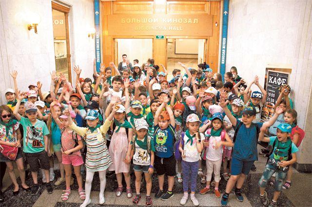 6 июня для ребят провели познавательную экскурсию по залам Центрального музея Великой Отечественной войны 1941–1945 годов.