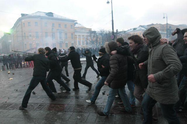 Беспорядки на Манежной площади, 2010 г.