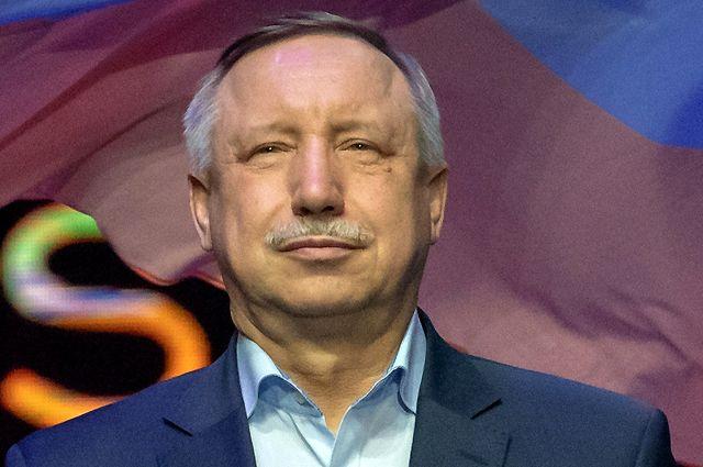 Временно исполняющий обязанности губернатора Санкт-Петербурга Александр Беглов.